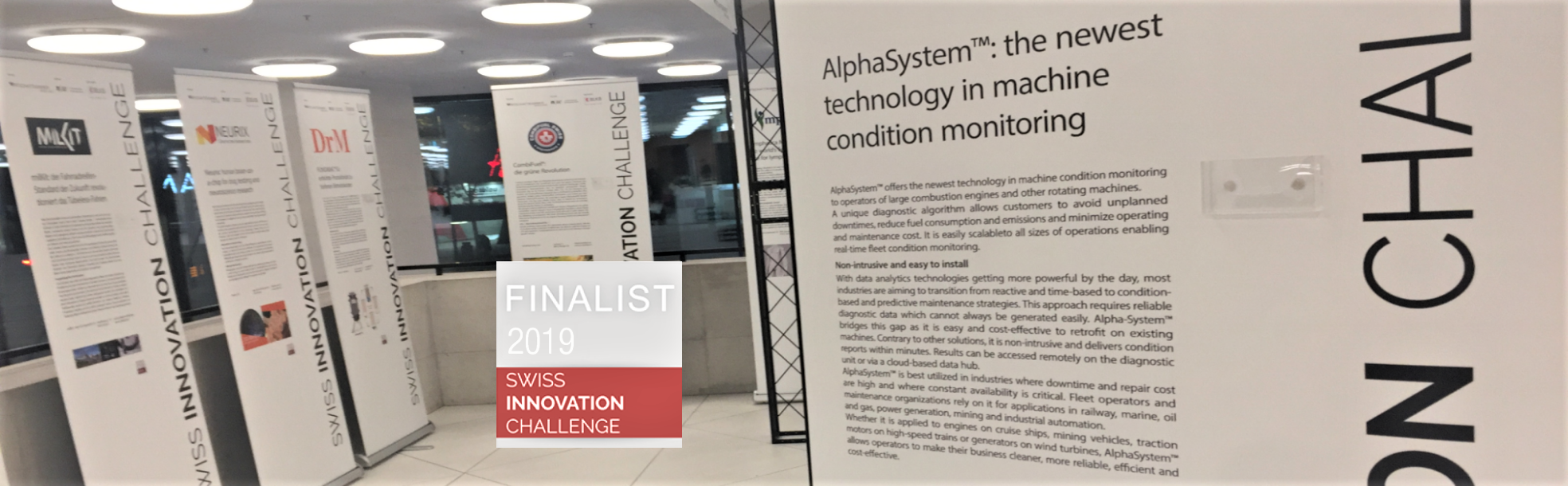 6th Place in 2019 Swiss Innovation Challenge
